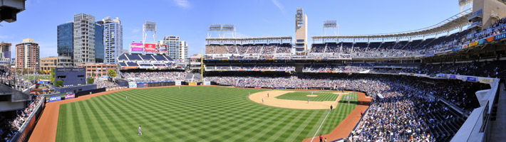 Panorama of Petco Park | C Enterprises