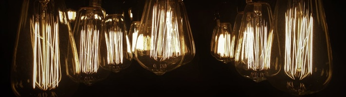 Hanging Edison Light Bulbs | C Enterprises