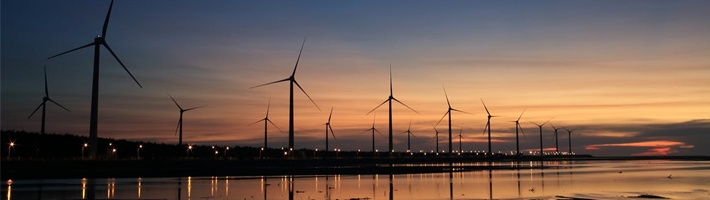 Windmills in the Sunset | C Enterprises