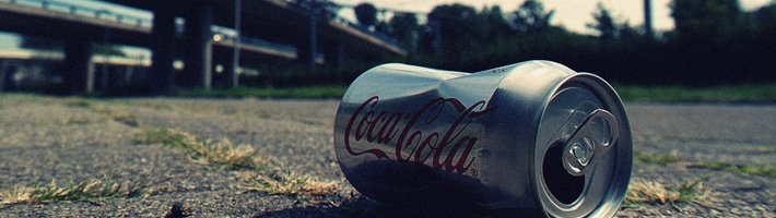 Coca Cola Can Thrown on the Ground | C Enterprises
